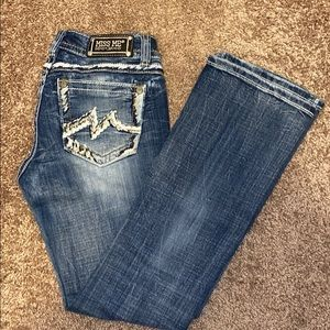 Miss Me Signature-Rise Bootcut Jean Size 29